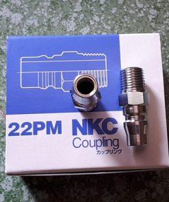 Khớp nối khí ren 13mm NKC NL-22PM
