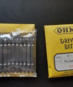Mũi Vặn Vít Bake Ohmi V 21w No.2x6.35x65 Emag