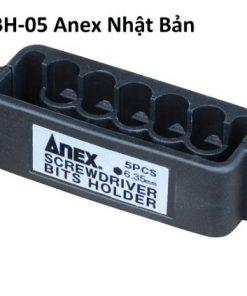 Khay đựng Mũi Vặn Vít 5 Lỗ Anex 6.35mm Abh 05 510x423